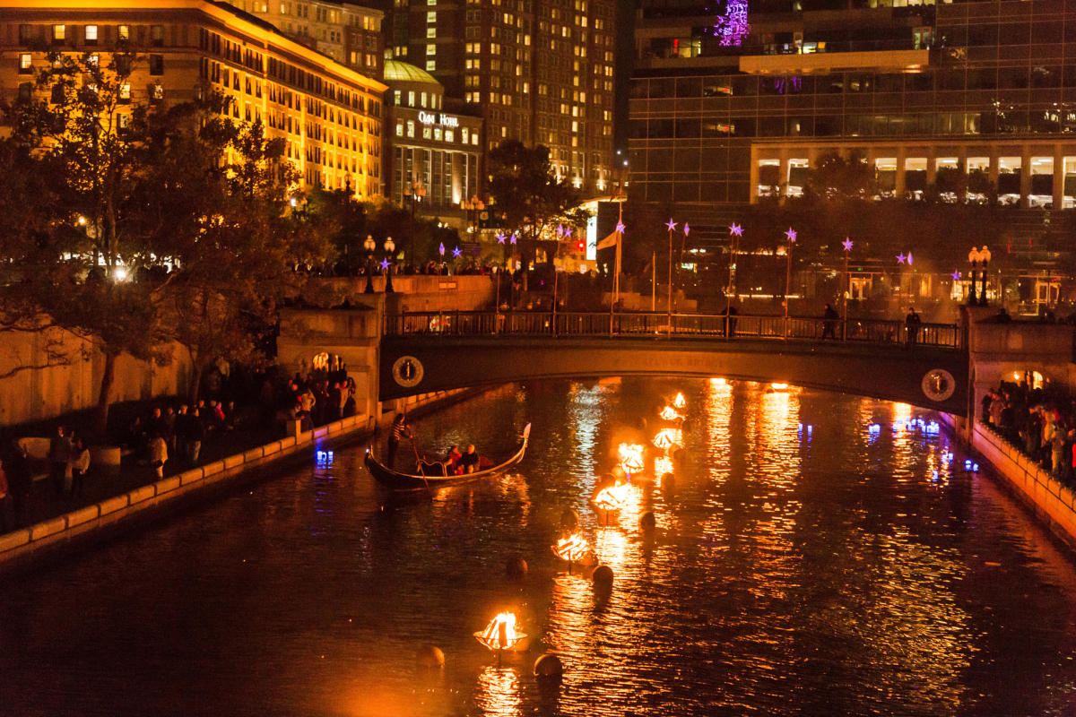 Salute to Veterans Waterfire