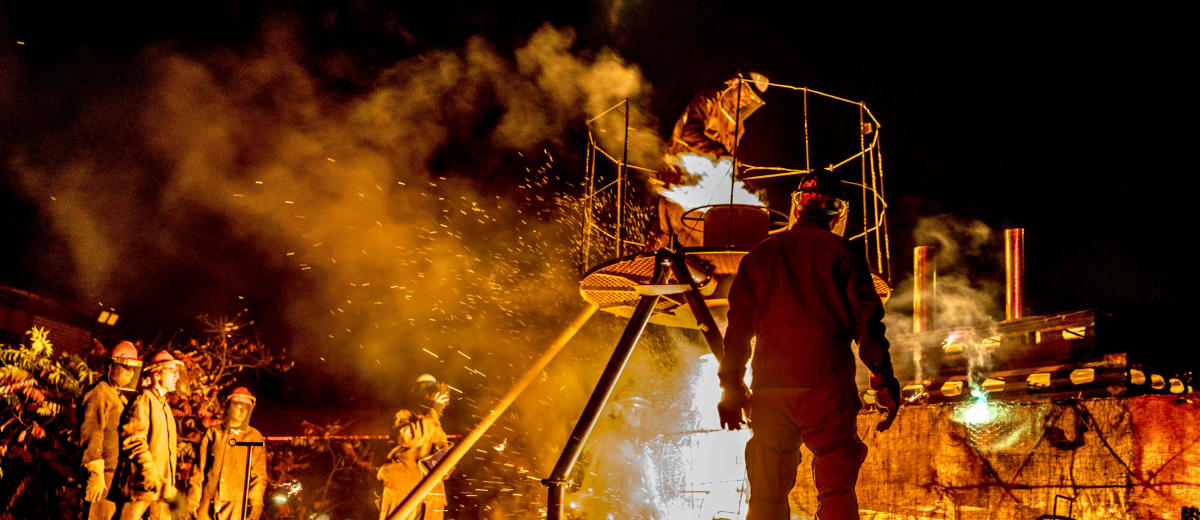 13th Annual Halloween Iron Pour: The Lost Yard