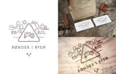 Bønder i Byen - logoer
