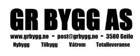 GR bygg logo