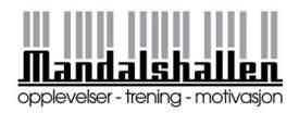 Mandal Svømmehall - Logo