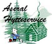 Åseral Hytteservice - Logo
