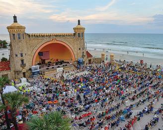 Friends Of The Bandshell Map 70 Boardwalk Daytona Beach