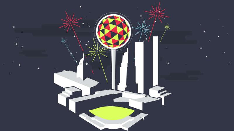fort wayne new years eve ball drop