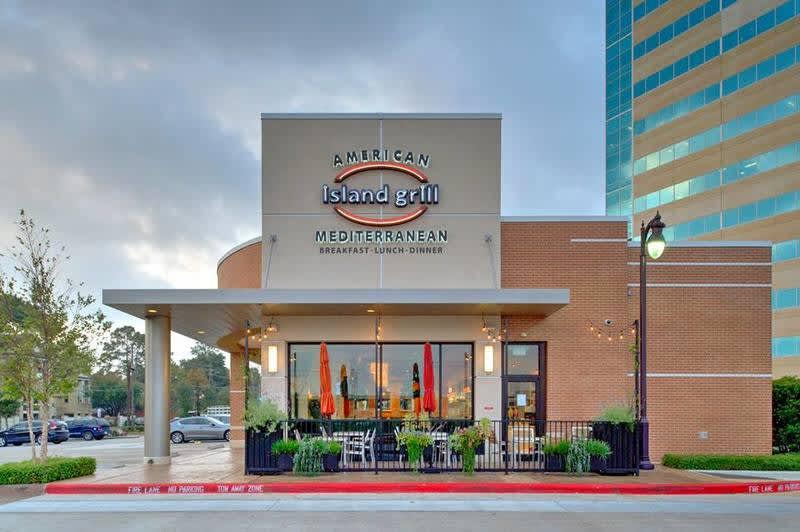 Island Grill Rice Village Restaurants In Houston Tx 77005