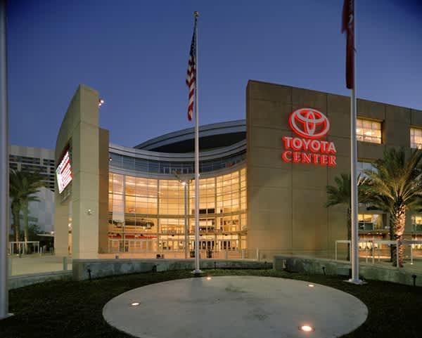 Toyota Center Tours