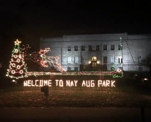 Holiday Light Spectacular at Nay Aug Park
