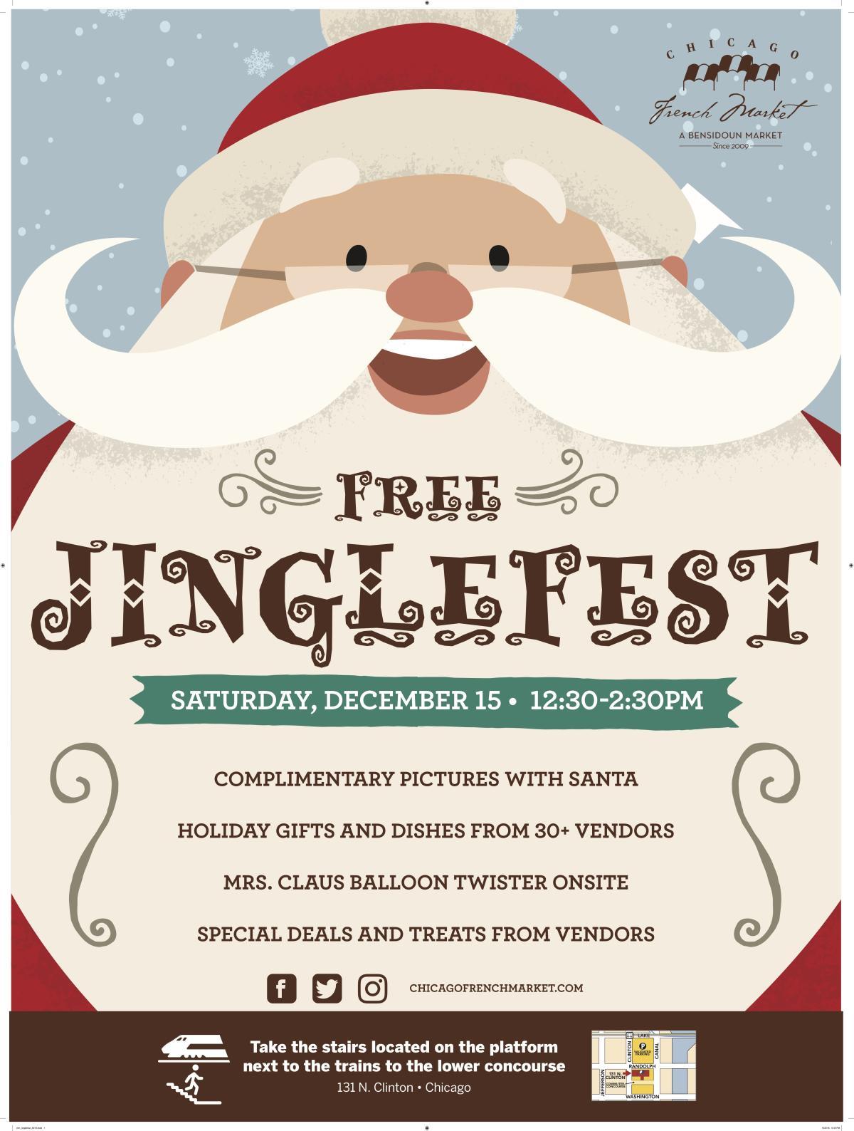 Chicago French Market hosts Jinglefest