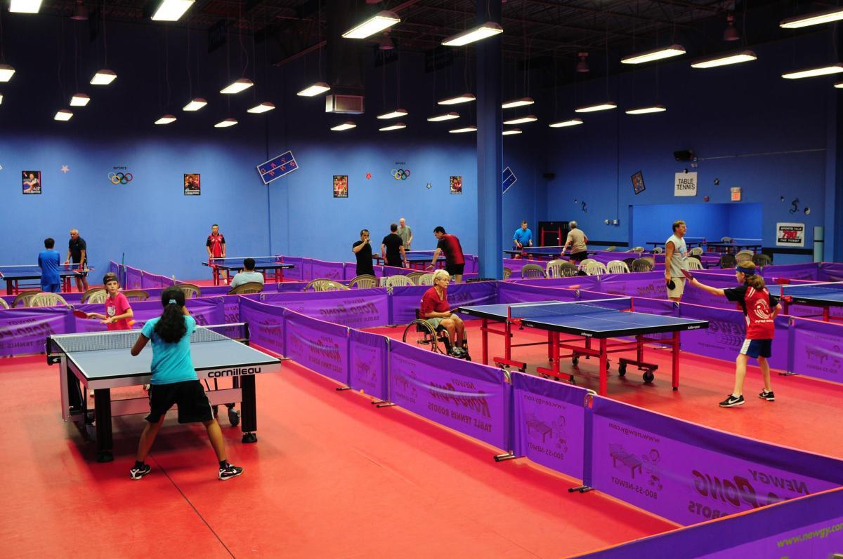 Broward Table Tennis Club Hollywood