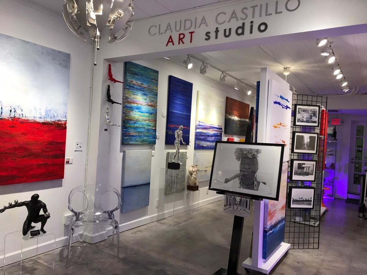 . CLAUDIA CASTILLO ART STUDIO   Wilton Manors  FL 33305