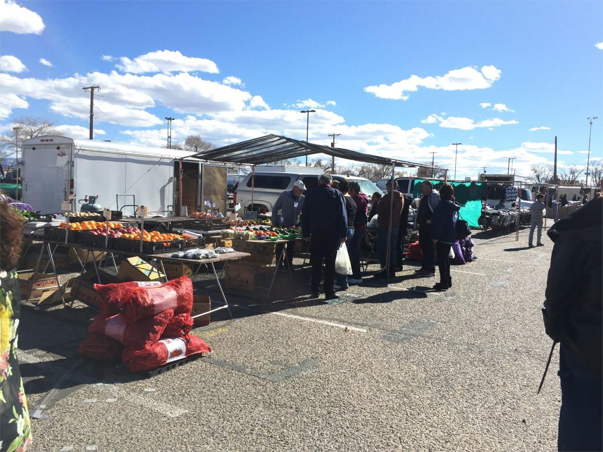 expo new mexico flea market