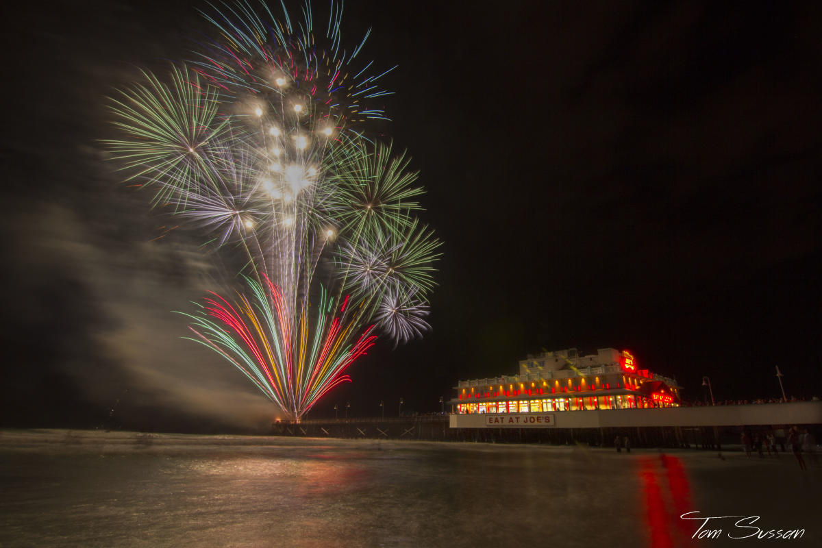 Daytona Beach New Years Eve  Fireworks