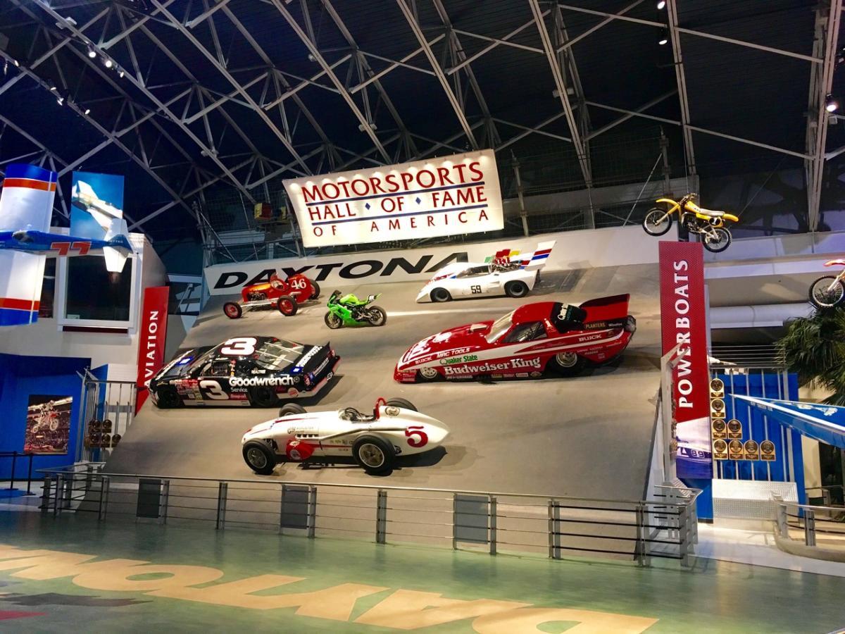 Motorsports Hall Of Fame America 1801 West International Sdway Boulevard Daytona Beach