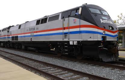 Amtrak Penger Trains