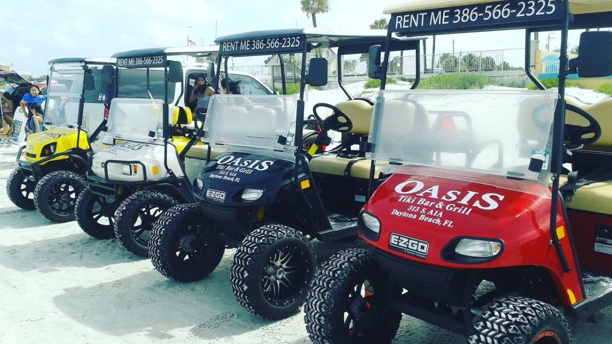 Beach Carts Daytona Golf Cart Rentals Daytona Beach Fl