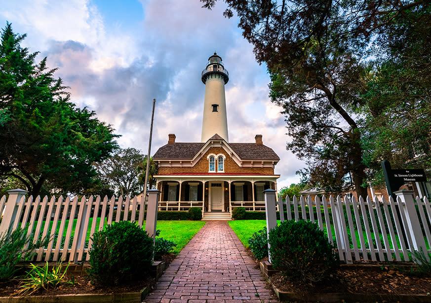 St Simons Lighthouse Museum St Simons Island Ga 31522