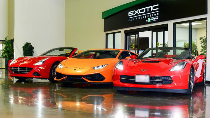 The Exotic Car Collection By Enterprise