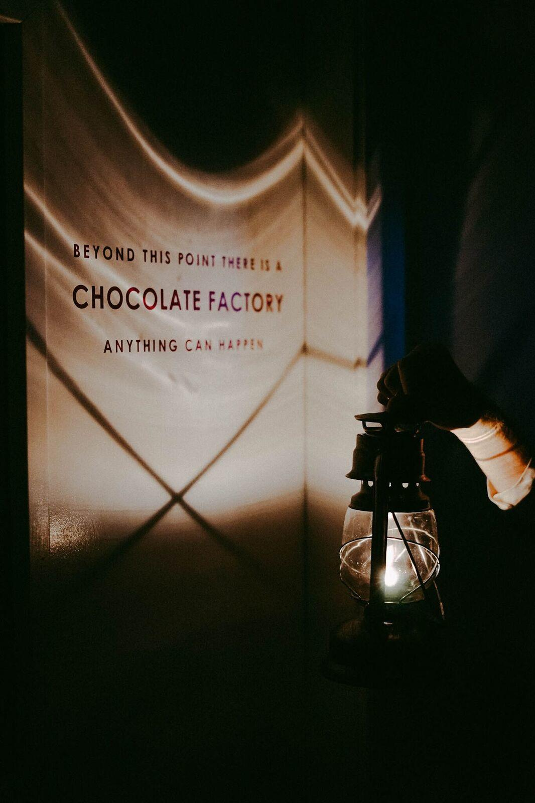 haunted factory tour at seattle chocolate