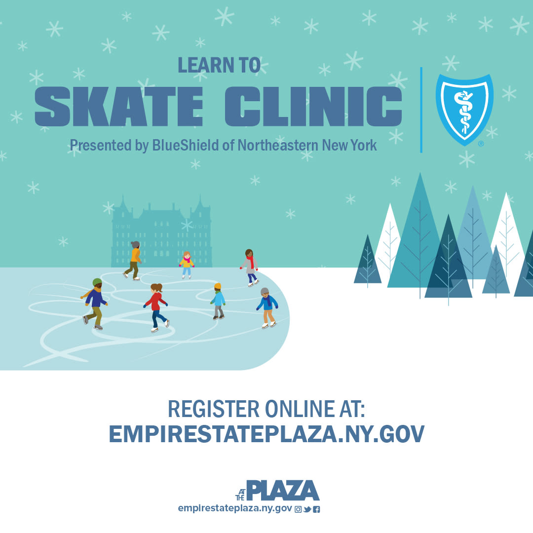 Learn To Skate Clinic Presented By Blueshield Of Northeastern New York