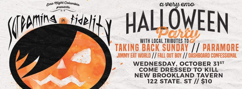 a very emo halloween party
