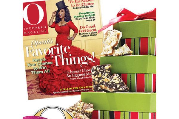 Toffee to Go Chosen as Oprah's Favorite Things December 2013