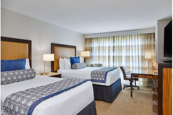 Westshore Grand Guestroom with Two Double Beds