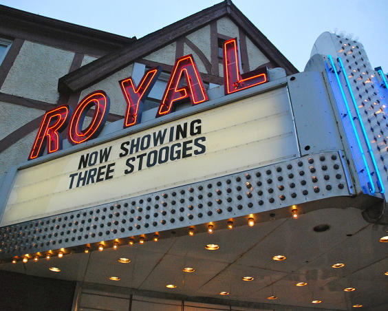 The Royal Theatre - Sign
