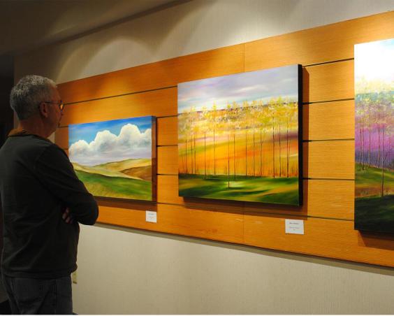 Plainfield Library Art Gallery - Exhibit