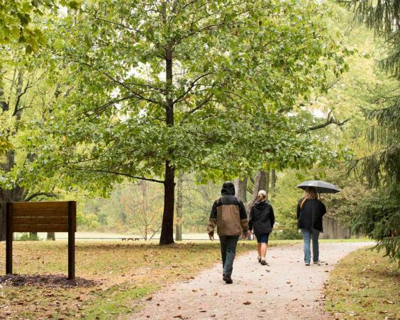 McCloud Nature Park - Walking Trail