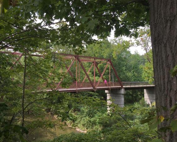 McCloud Nature Park - Walking Bridge