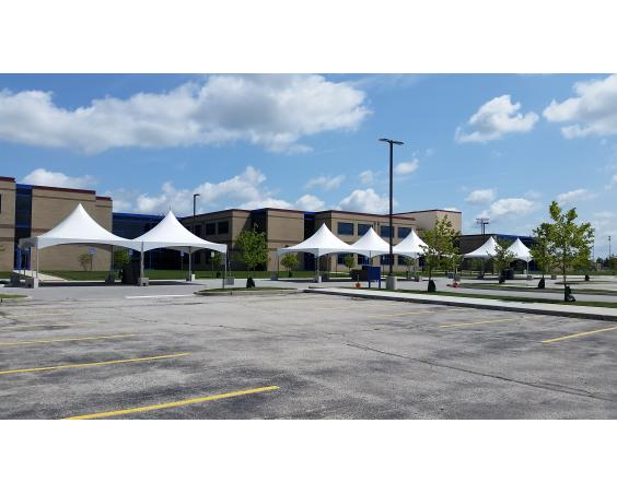 Square tents