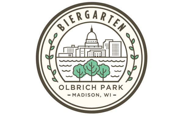 The Biergarten at Olbrich Park