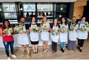 Harvest Blooms at We Olive and Wine Bar