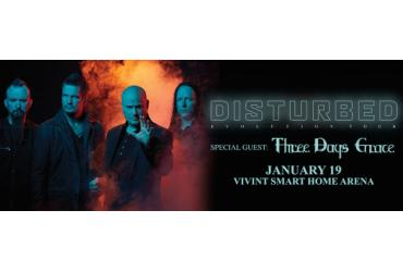 DISTURBED: Evolution World Tour