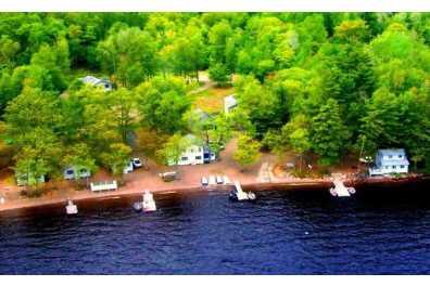 Shoreline Camps on Big Lake