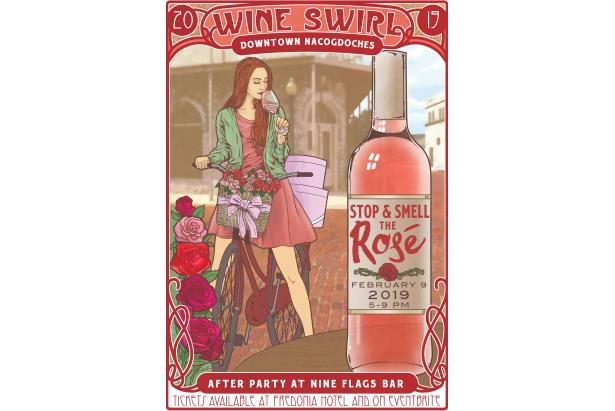 Wine Swirl 2019 Stop And Smell The Ros 233
