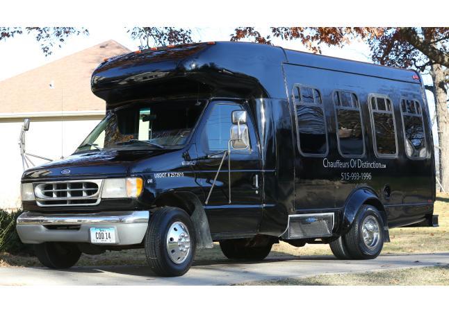 14 passenger sprinter/limo bus