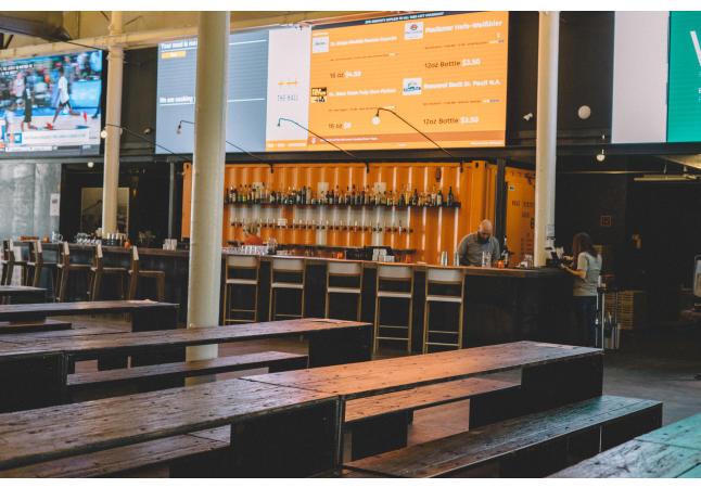 The Hall's Bar