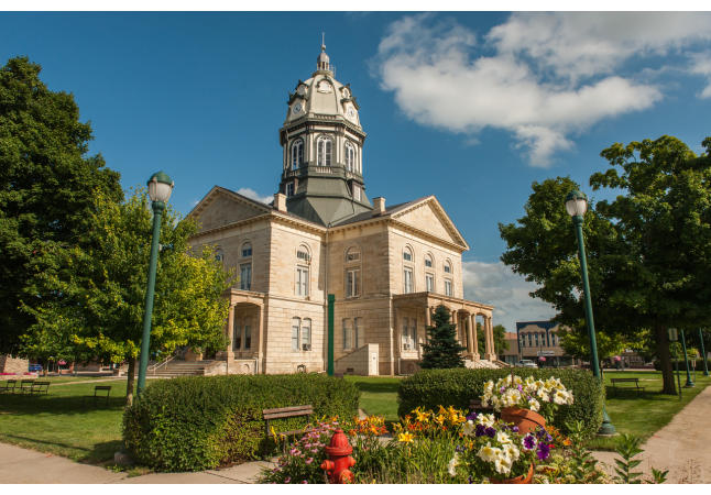 Winterset Historic Courthouse Square