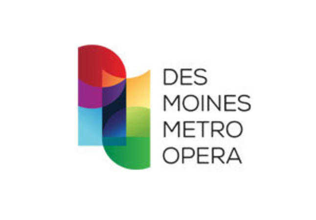 Des Moines Metro Opera logo graphic