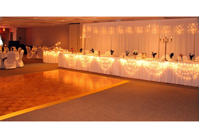 Wedding Reception Head Table