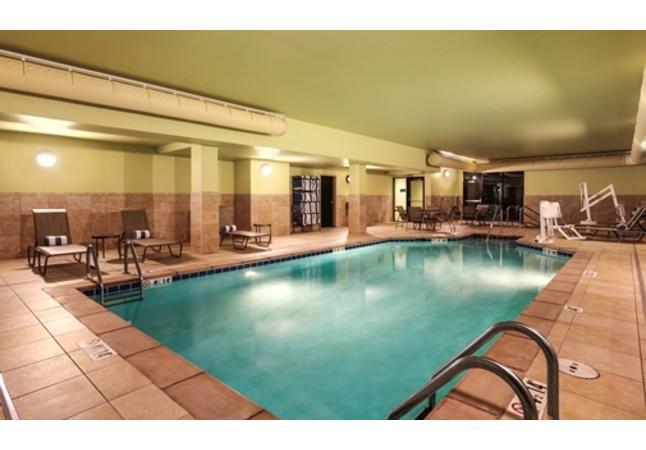 Indoor Salt Water Pool and Hot Tub