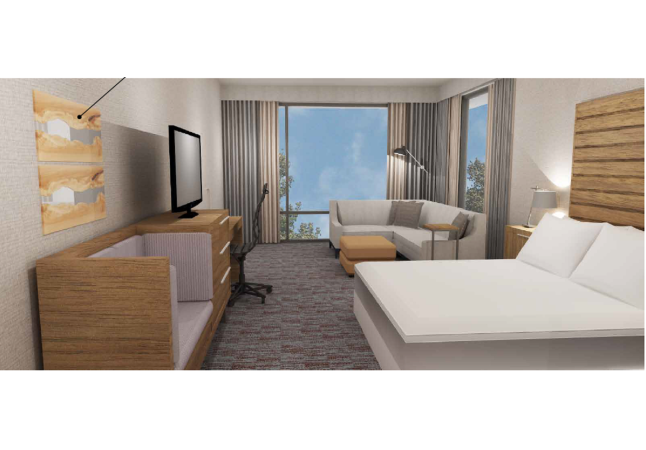 The Revel Guest Room