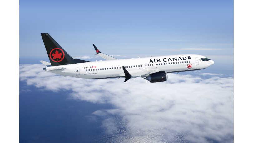 Air Canada 737