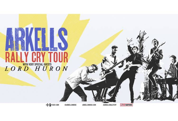 Image result for arkells rally cry tour banner
