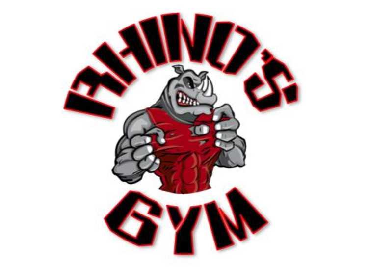 Rhino's Gym Logo