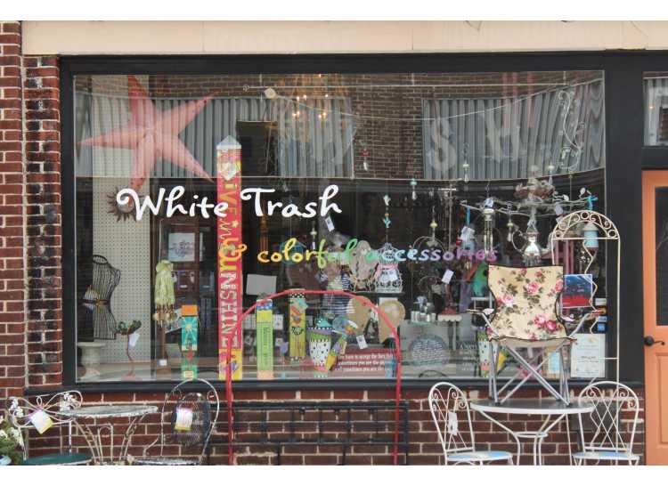White Trash & Colorful Accessories