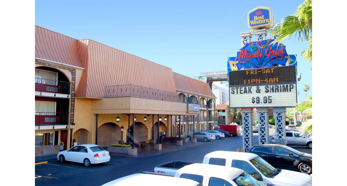 Best West Mardi Gras Hotel and Casino