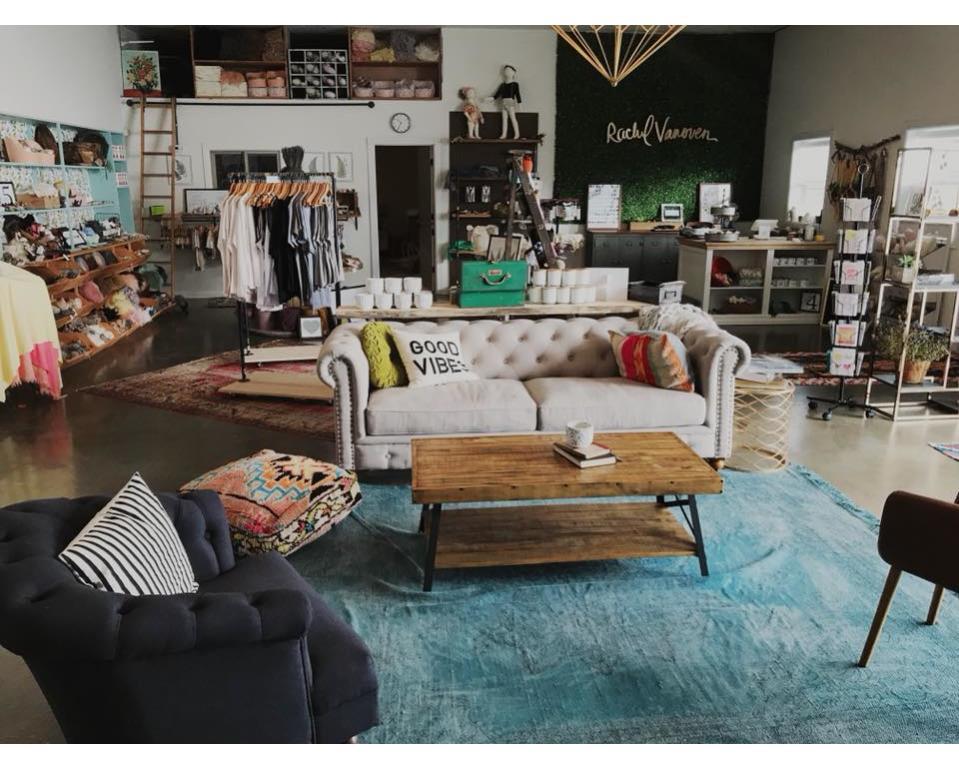 Rachel Vanoven Shop inside