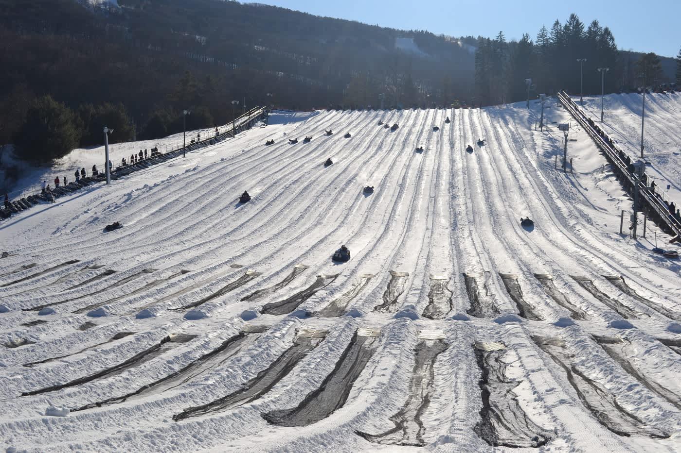 camelback mountain - snow tubing | tannersville, pa 18372